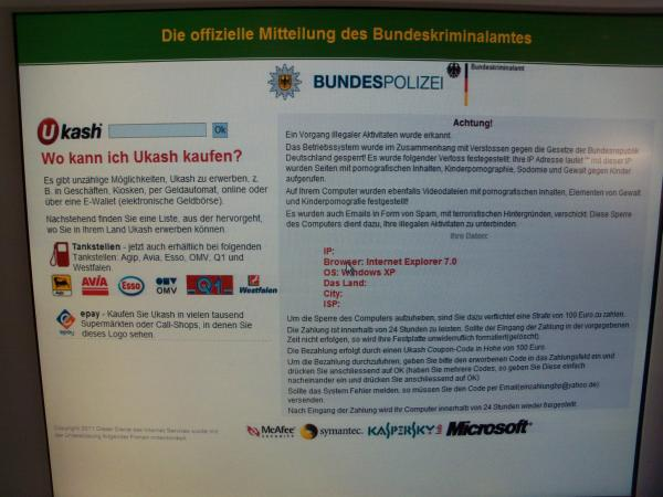 ukash bundespolizei