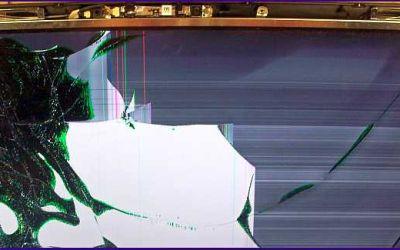 VAIO VPCF11 Bildschirm zerbrochen