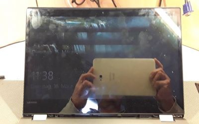 Lenovo Laptop Display muss ausgewechselt werden